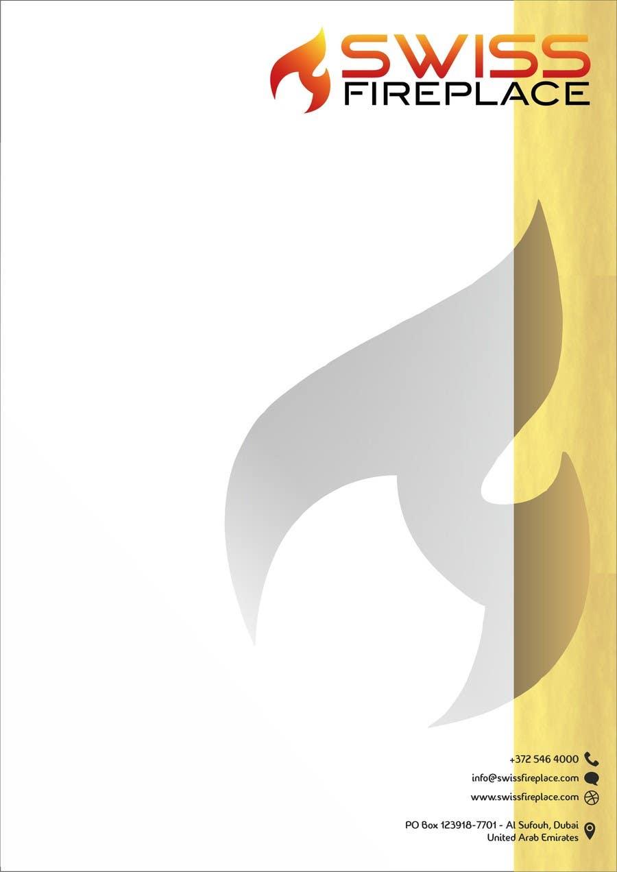 Inscrição nº 27 do Concurso para Letterhead Design (Only a regular A4 Page) for my company