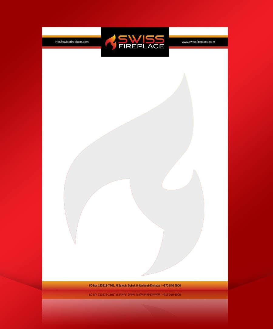 Penyertaan Peraduan #18 untuk Letterhead Design (Only a regular A4 Page) for my company