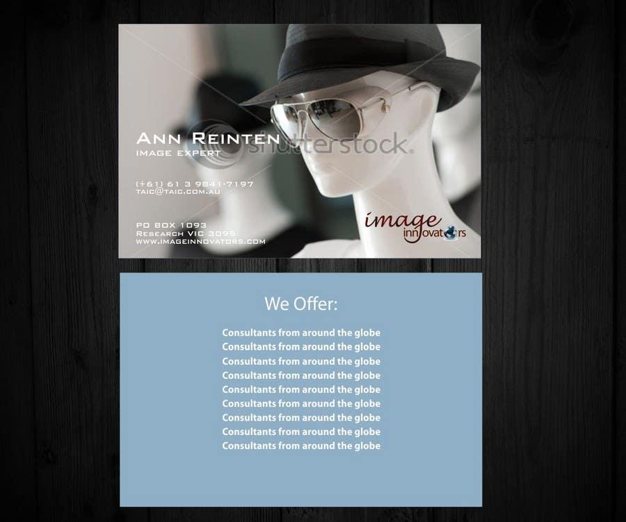 Bài tham dự cuộc thi #48 cho Business Card Design for Image Innovators