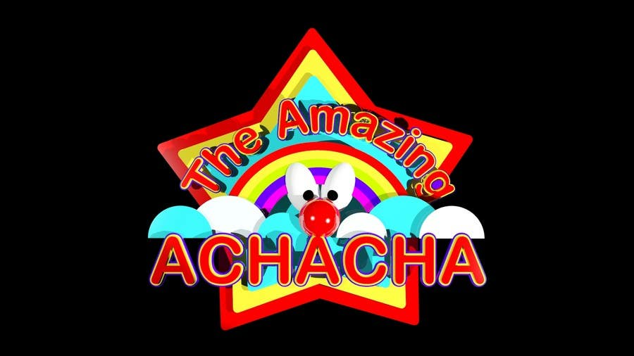 Logo design for the amazing acha cha and the white for Logo creation wizard