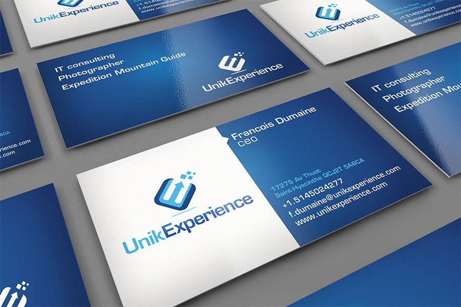 #3 for Design Business Cards for Unik Experience by midget