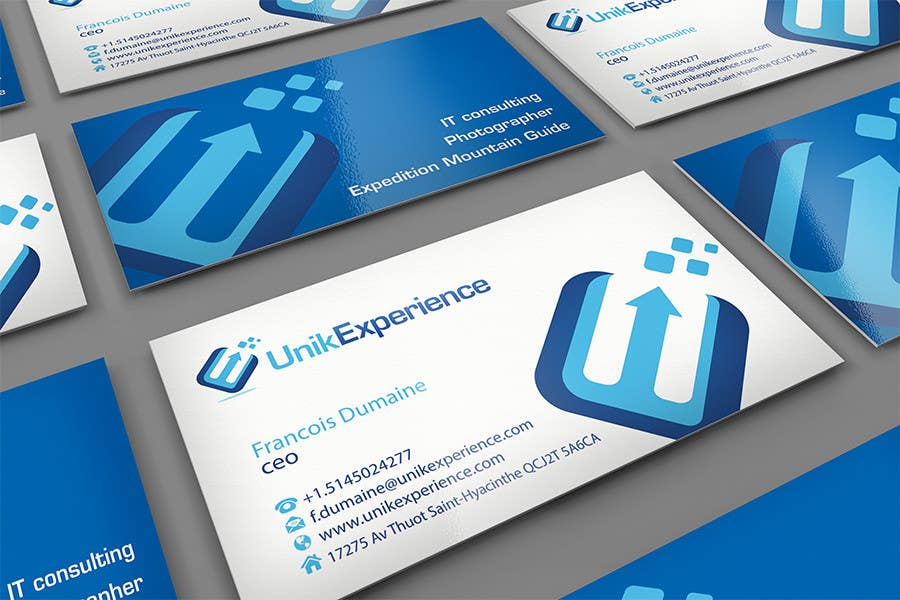#4 for Design Business Cards for Unik Experience by midget