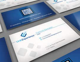 #28 for Design Business Cards for Unik Experience by midget