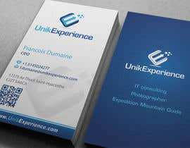 #29 for Design Business Cards for Unik Experience by midget
