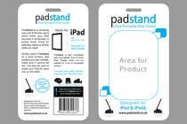 Graphic Design Inscrição do Concurso Nº56 para Print & Packaging Design for PadStand