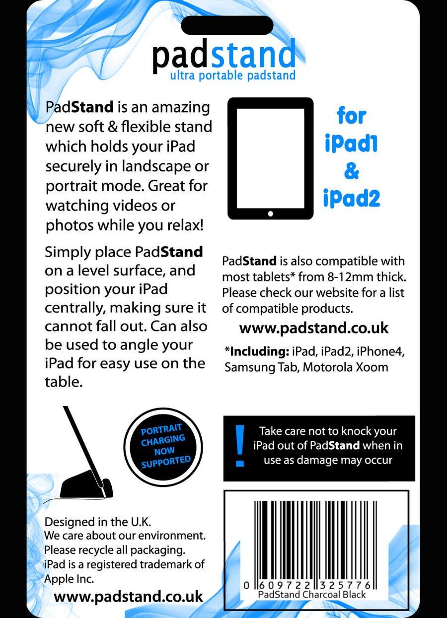Inscrição nº                                         49                                      do Concurso para                                         Print & Packaging Design for PadStand