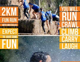 SagarChitrakar tarafından Design a Flyer/Poster for Mad Cow Mud Run için no 25