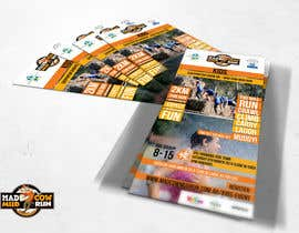 SagarChitrakar tarafından Design a Flyer/Poster for Mad Cow Mud Run için no 26