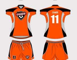 gidzibarra tarafından Design full color dye sublimation soccer jersey & shorts için no 10