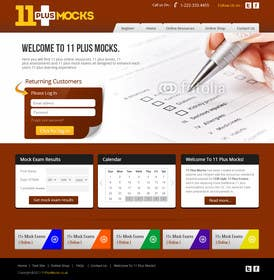 #21 untuk Design a Website Mockup for my website oleh kreativeminds