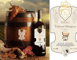 Nro 13 kilpailuun Wine labels for an international Wine Brand käyttäjältä Slavajan