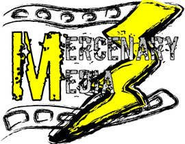 #9 para Logo Cartoon Design for Mercenary Media por JayDesigns
