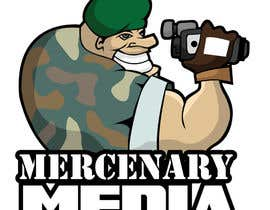 #123 pentru Logo Cartoon Design for Mercenary Media de către MyPrints
