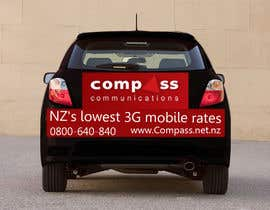 #49 for Car Ad Mock-up af jonydep