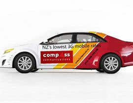 #54 for Car Ad Mock-up af jonydep