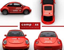 #35 for Car Ad Mock-up af pointlesspixels