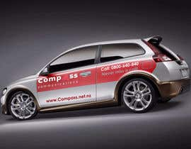 #7 for Car Ad Mock-up af TaseerID