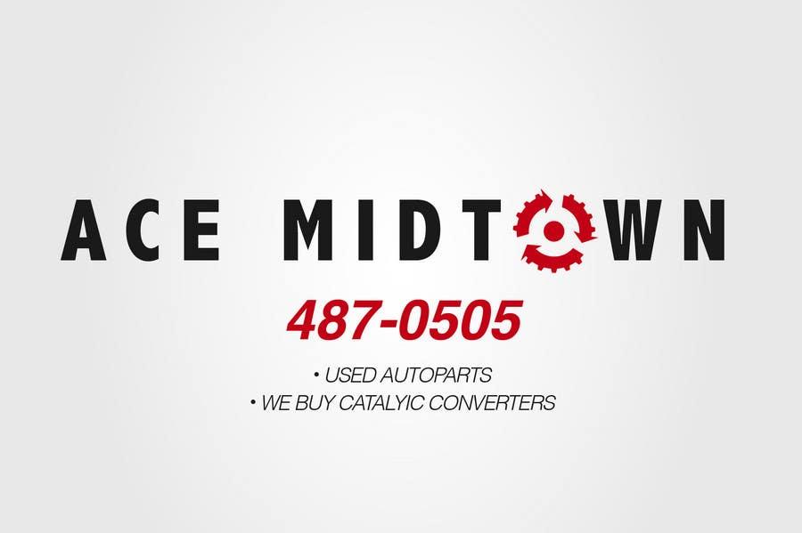 Kilpailutyö #47 kilpailussa Logo Design for Ace Midtown