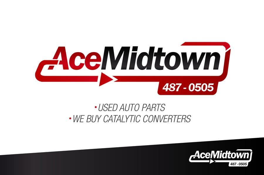 Конкурсная заявка №1 для Logo Design for Ace Midtown