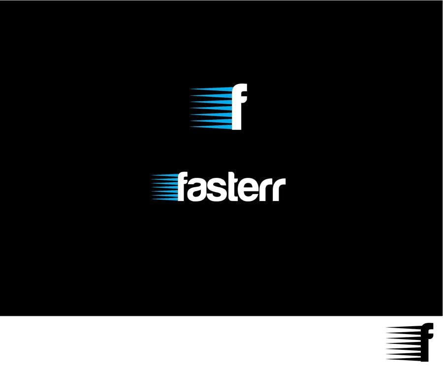 #426 for Design a Logo for fasterr.com by takkar