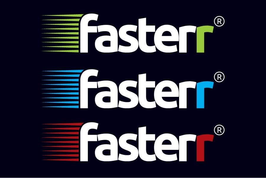 Penyertaan Peraduan #528 untuk Design a Logo for fasterr.com