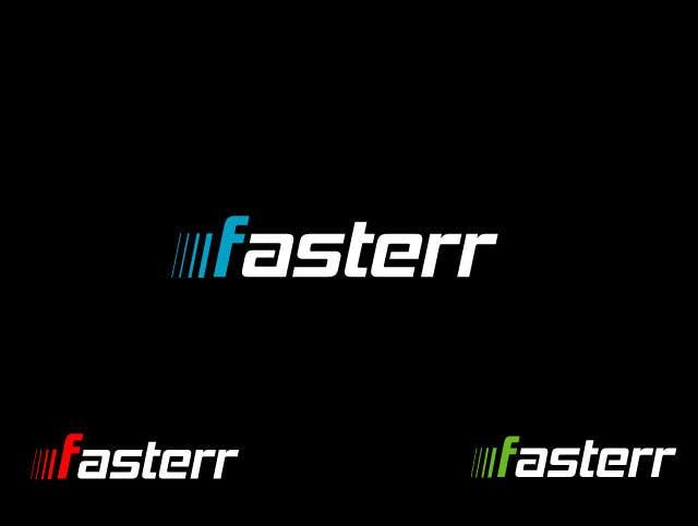 #488 for Design a Logo for fasterr.com by saimarehan