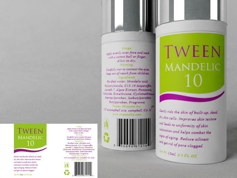 Contest Entry #22 for Print & Packaging Design for Tween