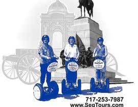 #99 para T-shirt Design for Segway Tours of Gettysburg por JulieSneeden