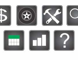 #12 para Icon Design for vehicle management system por henrydarko