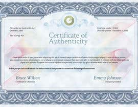 #20 for Design a certificate by jjosephdesign