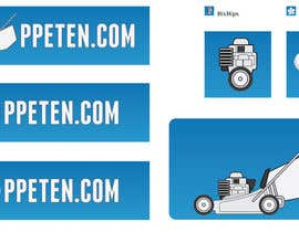 #198 para Design a Logo & Favicon for PPETEN.COM Small Engine Repair Website por catalins