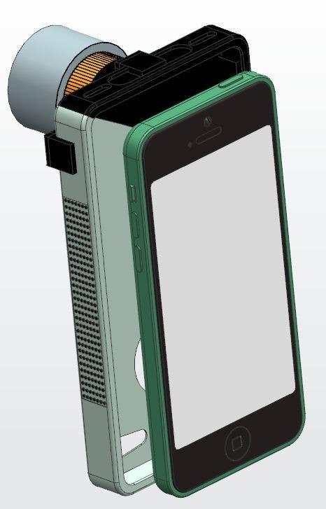 Kilpailutyö #                                        6                                      kilpailussa                                         Creative product design for a medical optics device