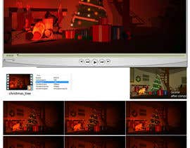 nº 12 pour Create Animated 3D Christmas Scene - Example Provided par thenomobs