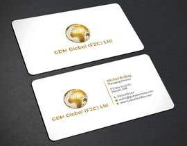 Nro 43 kilpailuun Design of Business Cards and Letterhead for GDM Global (FZC) Ltd käyttäjältä dnoman20