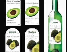 nº 7 pour Etiqueta para botella de aceite de aguacate. par Sat981