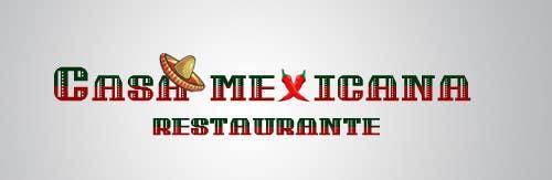 Penyertaan Peraduan #6 untuk logo para pequeño restaurante mexicano