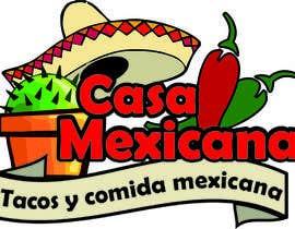 #15 untuk logo para pequeño restaurante mexicano oleh pablopoeta