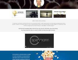 Nro 24 kilpailuun Website design for public speaker käyttäjältä jkphugat