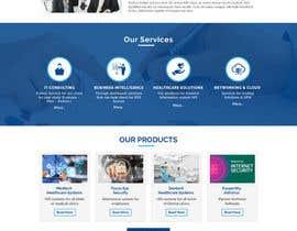 Nro 13 kilpailuun Design modern style Website Mockup käyttäjältä creationidea