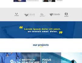 Nro 1 kilpailuun Design modern style Website Mockup käyttäjältä semir1990