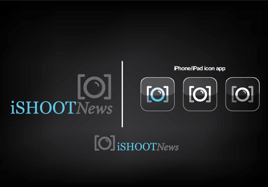 Contest Entry #                                        213                                      for                                         Logo Design for iShootNews