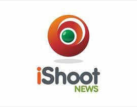 #397 para Logo Design for iShootNews por mamoli