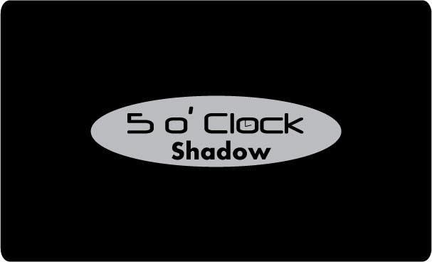 #35 for Design a Logo and banner for 5 Oclock Shadow by YasminIrfan