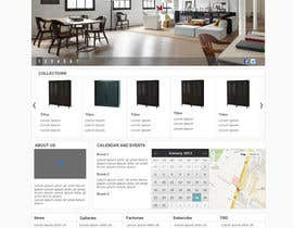 #7 para Design a Website Mockup for our company HOME PAGE ONLY por authenticweb