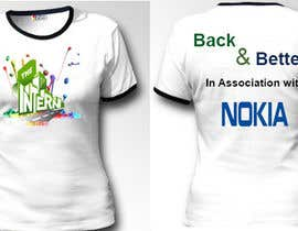 cyber3c tarafından Design a T-Shirt for THE INTERN BUSINESS REALITY SHOW için no 18