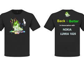 cyber3c tarafından Design a T-Shirt for THE INTERN BUSINESS REALITY SHOW için no 20