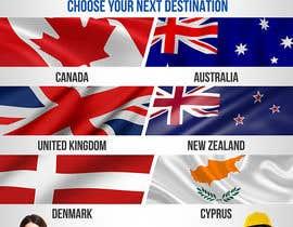 Nro 12 kilpailuun Design a Banner for an overseas education and immigration company käyttäjältä elgu