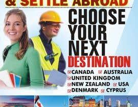 Nro 13 kilpailuun Design a Banner for an overseas education and immigration company käyttäjältä dekaszhilarious