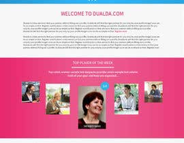 #25 para Homepage redesign for dualda.com por gaf001