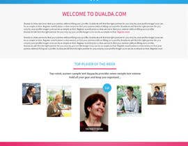 #26 para Homepage redesign for dualda.com por gaf001
